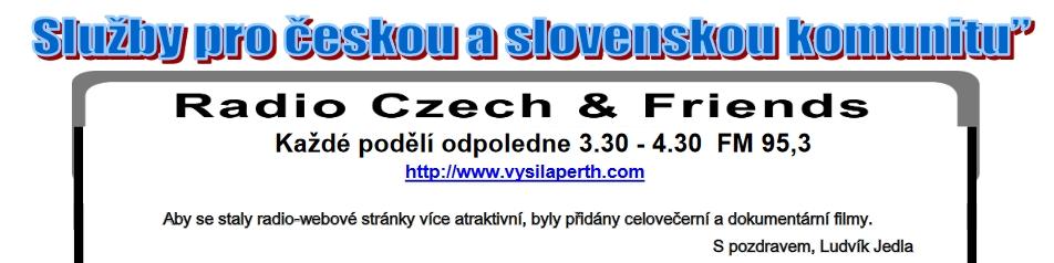 reklama na vysílání v č. 1/2012 časopisu Klokan, který vydává Czech & Slovak Association in Western Australia